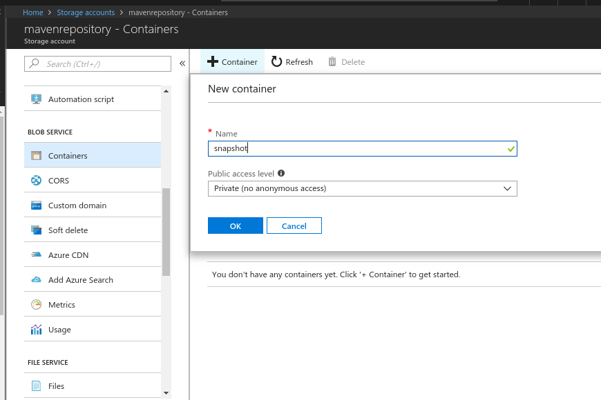 Host your maven artifacts using Azure Blob Storage – Emmanouil